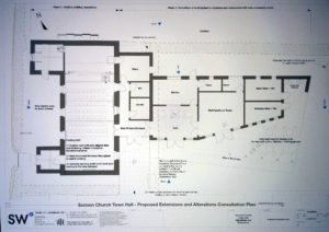 Hall floorplan