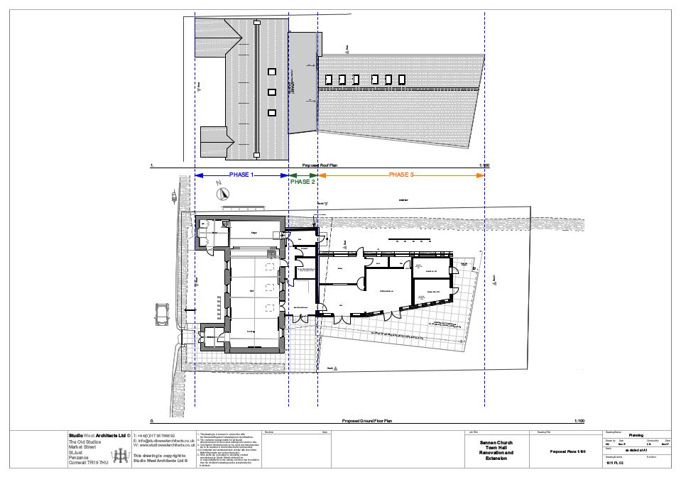 Hall floorplan diagrams