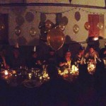 Panorama of private hire banquet Sennen