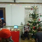 Christmas tree in Sennen hall venue